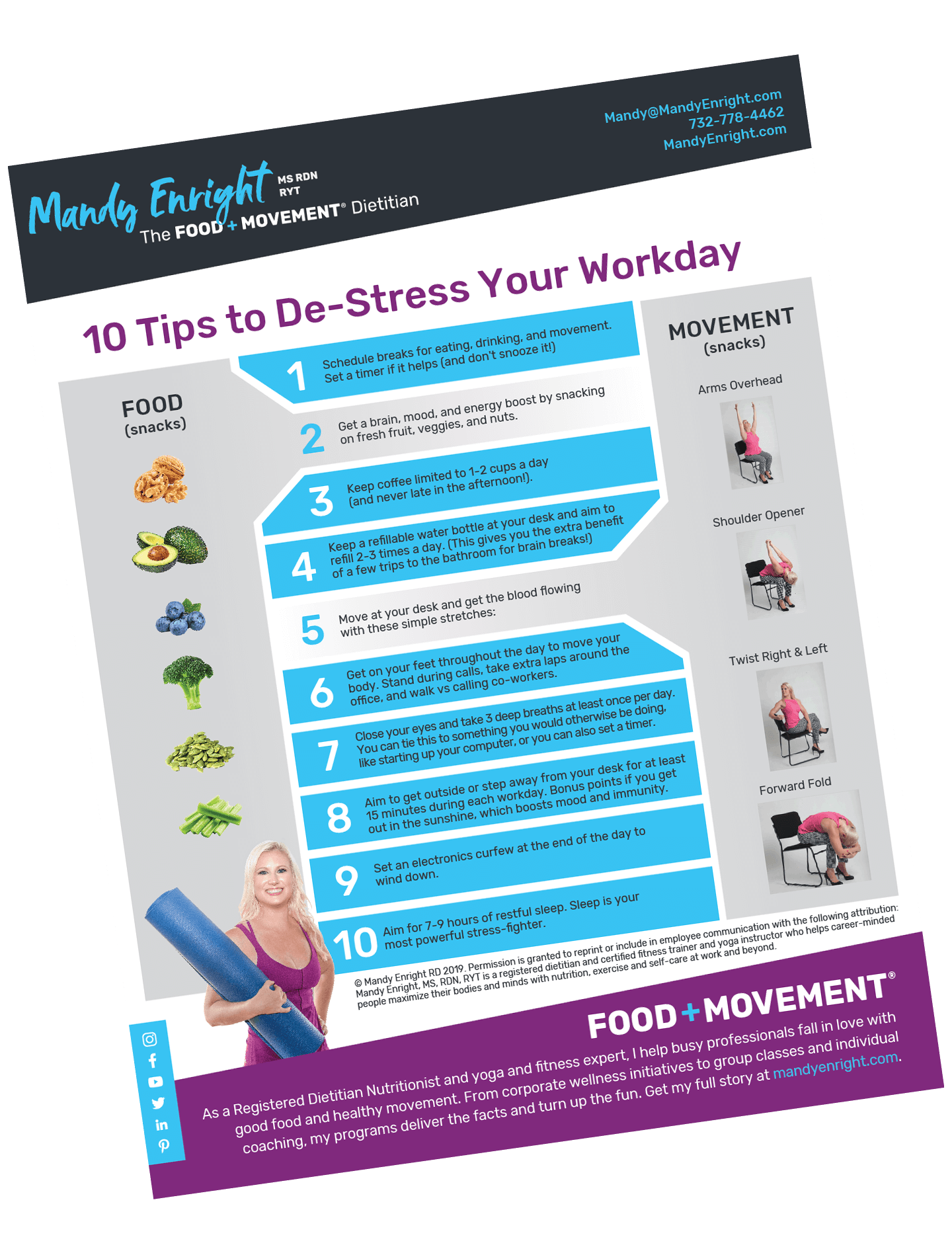 Mandy Enright-10-ways-to-destress-at-work