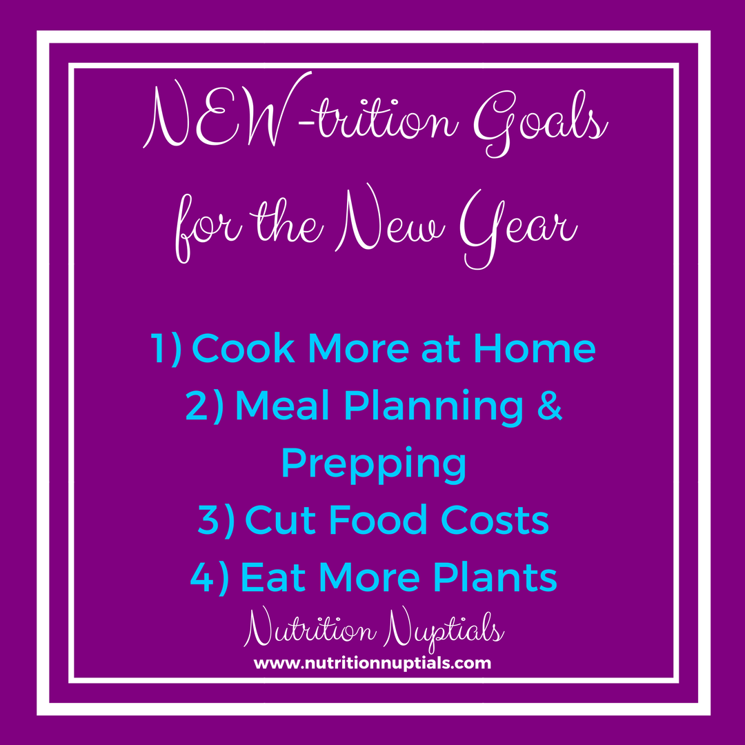 New-trition Goals   Nutrition Nuptials  Mandy Enright MS RDN RYT  New year Goals