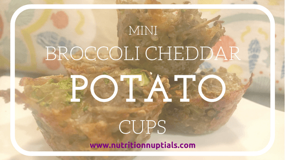 Broccoli Cheddar Potato Cups