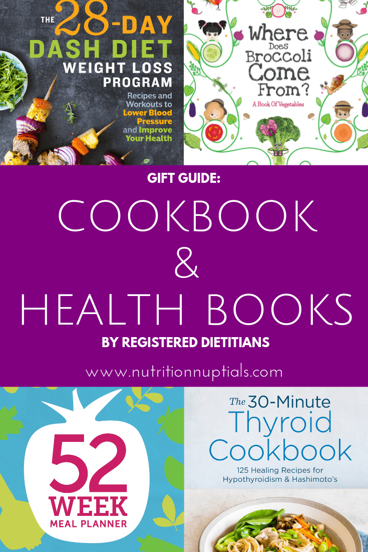Cookbook Gift Ideas | Nutrition Nuptials | Mandy Enright MS RDN RYT