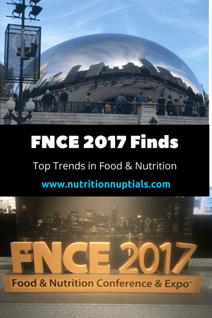 FNCE 2017 | food trends | Nutrition Nuptials