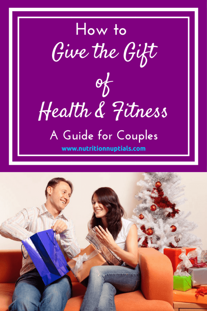 Giving the Gift of Fitness | Nutrition Nuptials | Mandy Enright MS RDN RYT