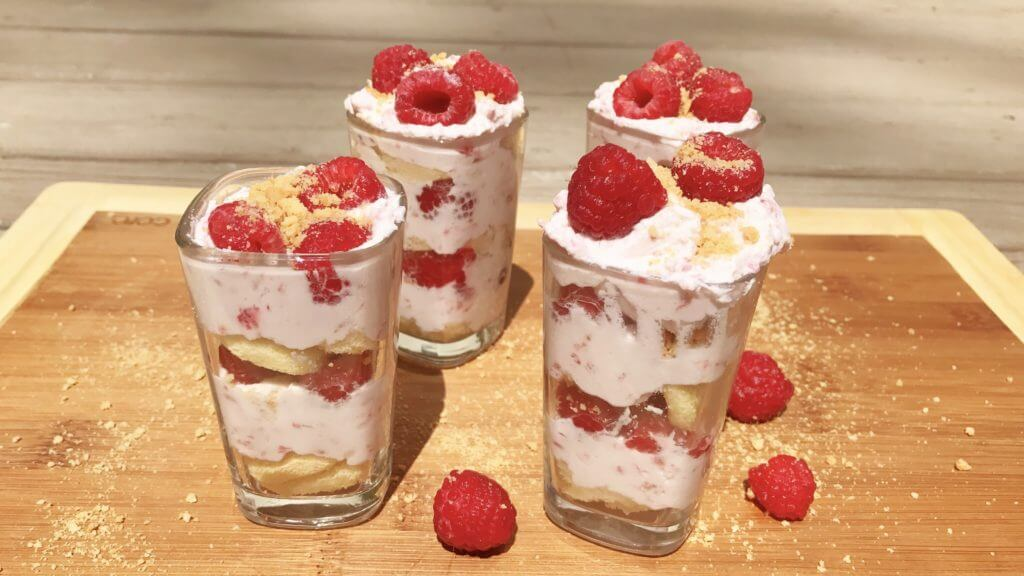 very berry tiny trifle