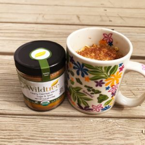 Mug Breakfast | Nutrition Nuptials |Wildtree Hearty Oatmeal Mix-In: Sugar & Spice
