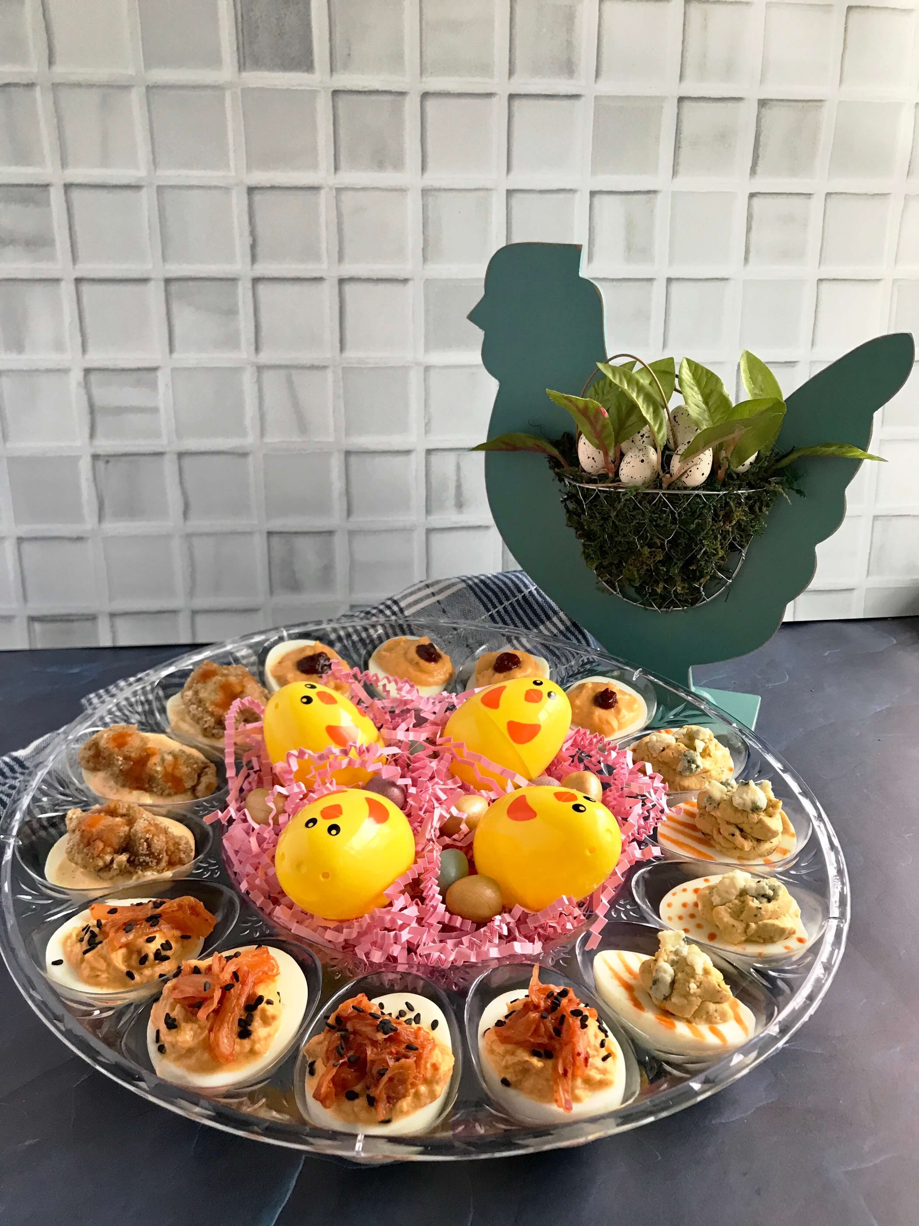 Spicy Deviled Egg Recipes | Easter Hardboiled Egg Leftovers | Nutrition Nuptials | Mandy Enright MS RDN RYT
