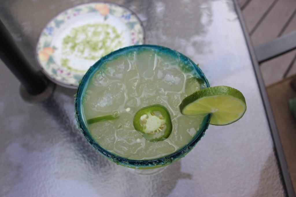 Jalapeño Infused Margarita