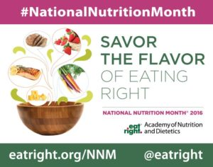 National Nutrition Month events