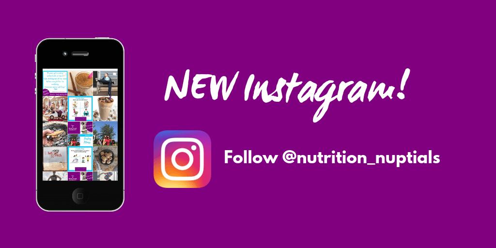 Nutrition Nuptials | Mandy Enright MS, RDN, RYT | Instagram | @nutrition_nuptials
