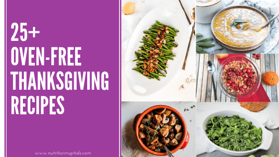 25 No Oven Thanksgiving Recipes