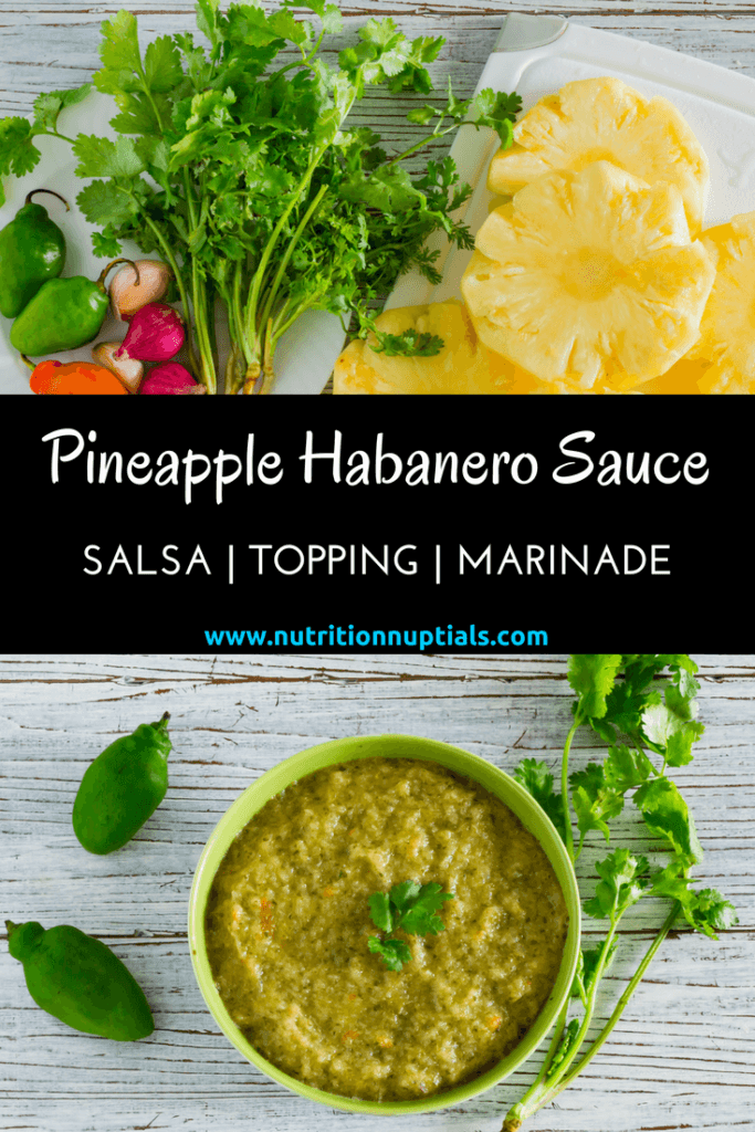 Pineapple Habanero Sauce | Recipe | Nutrition Nuptials | Mandy Enright MS RDN RYT