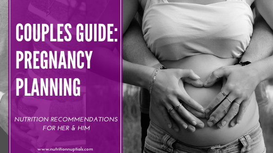 nutrition for pregnancy planning