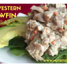 yellowfin tuna salad