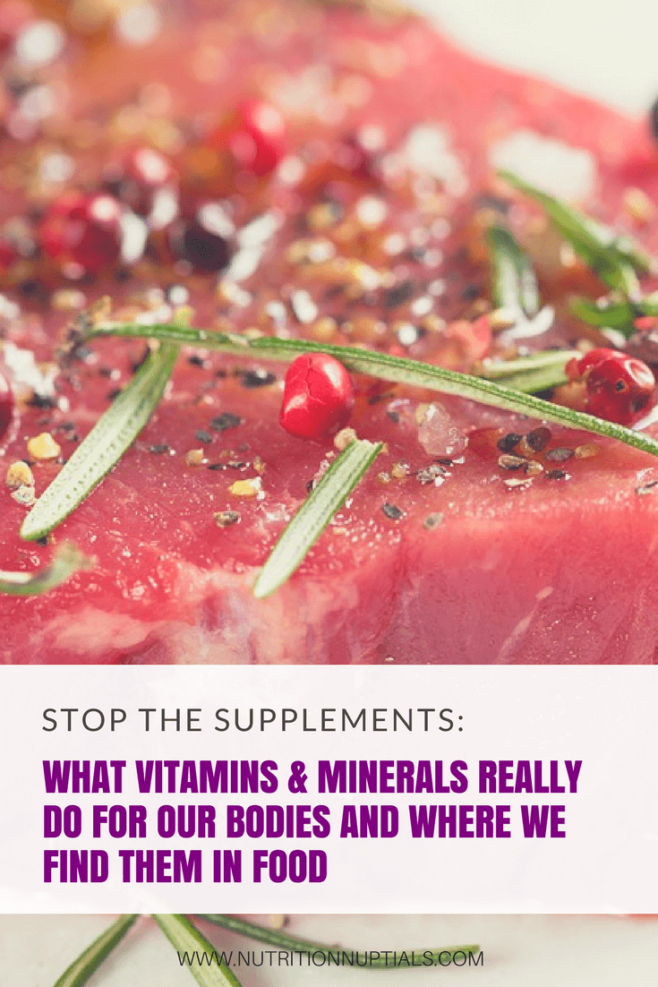 vitamins | minerals | Nutrition Nuptials | Mandy Enright MS RDN RYT