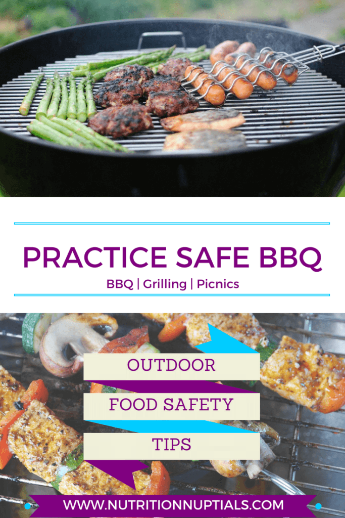 Food Safety | BBQ Grilling Tips | Nutrition Nuptials | Mandy Enright MS RDN RYT | Pinterest