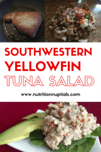 yellowfin tuna salad