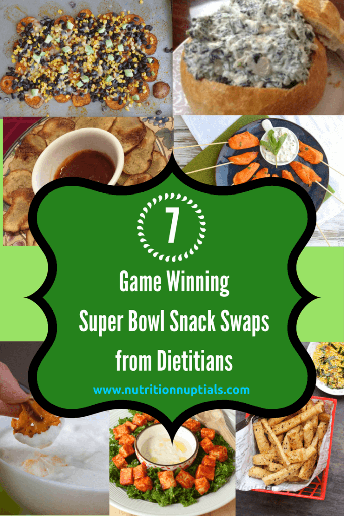 super bowl snack swaps
