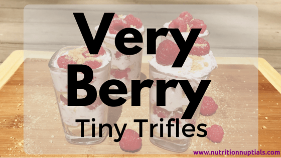 very berry tiny trifles