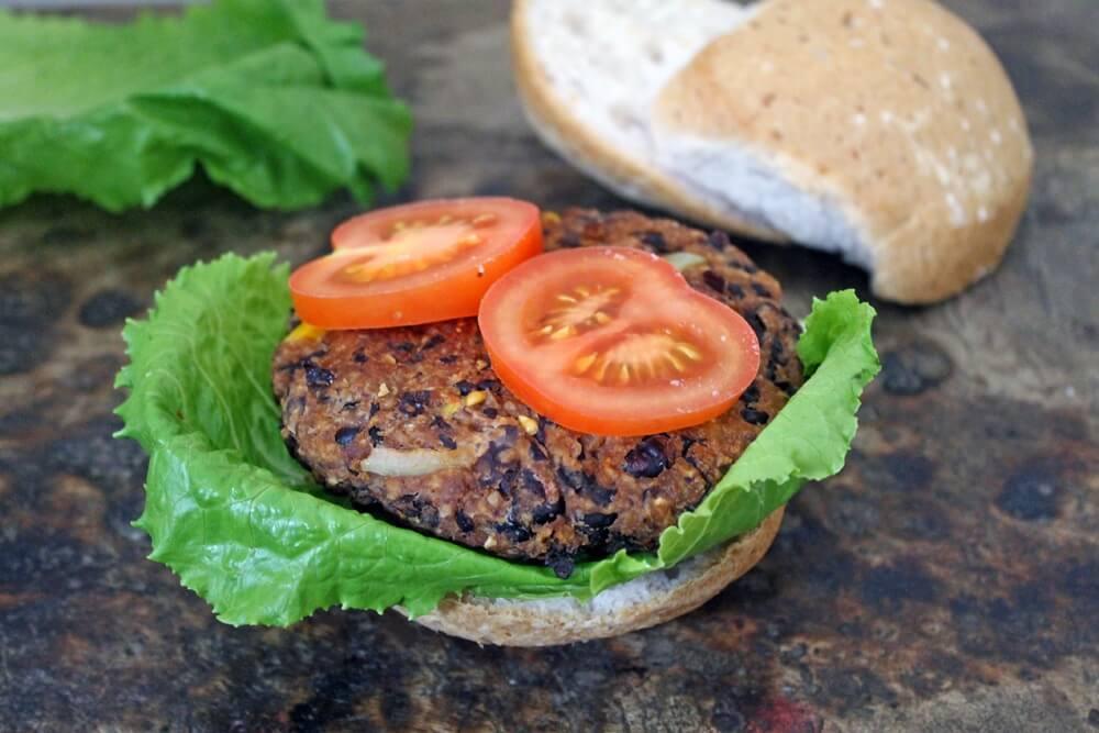 Black Bean Burger | Nutrition Nuptials | Mandy Enright MS RDN RYT