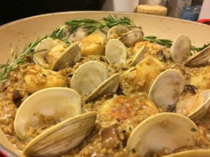 Freekeh Seafood Risotto