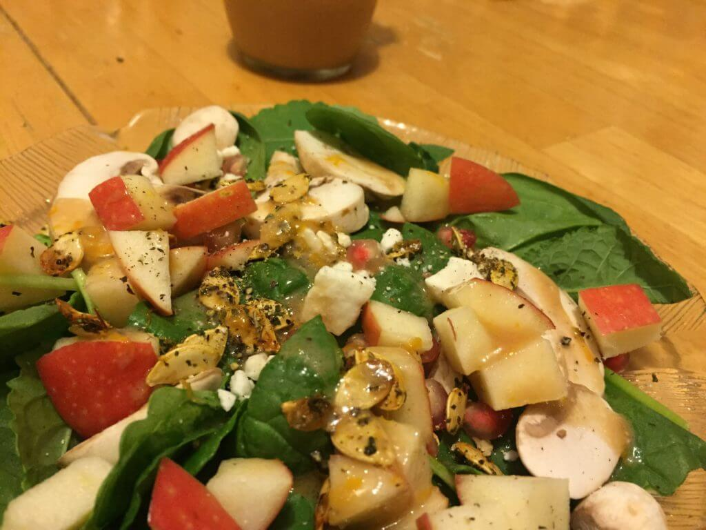 Pomegranate Apple Cider Vinegar Dressing