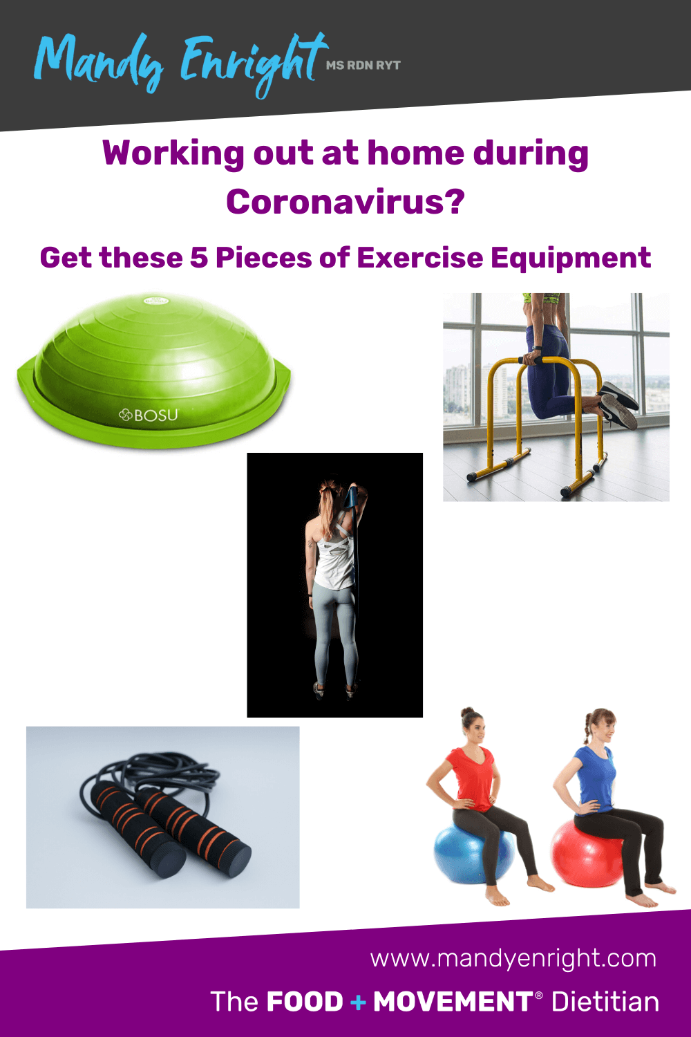 Working out at home during coronavirus? Get these 5 pieces of exercise equipment